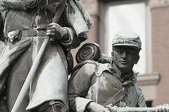 Soldier Tribute, Geneva. (EOS) (Mega-Magpie) Tags: canon eos 60d outdoors soldier tribute monument geneva il kane illinois usa america