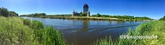 Panoshot: Unfinished castle in Almere The Netherlands (PictureJohn64) Tags: landscape panorama pano landschap ruine bouw picturejohn64 iphone almeerderhout netherlands almere kasteel castle