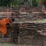 Jeunes novices au Wat Phra Si Samphet, Ayutthaya thumbnail