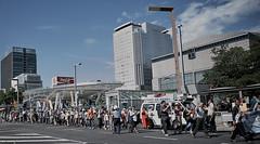 Akihabara _72 (Kinbachou48) Tags: akihabara tokio fujifilmx100s donquijote shopping byn maid idol akb48 tokiotower 東京都 秋葉原 ドン キホーテ メイド