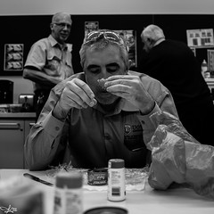 Lunchtime moment... (e0nn) Tags: steveselbyphotography steev steveselby pentax pentaxk1 sigma sigmaminiwideii28mmf28 workmates