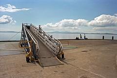 Wemyss Bay Railway Pier. (christopherhogg1) Tags: chrishoggsphotos wemyssbay railwaypier oier railways caledonianrailway calmac firthofclyde renfrewshire scotland isleofarran isleofbute rothesay ferry coast boardingramp