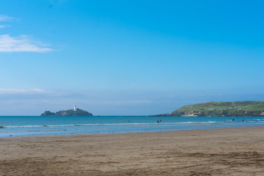 Gwithain beach closer