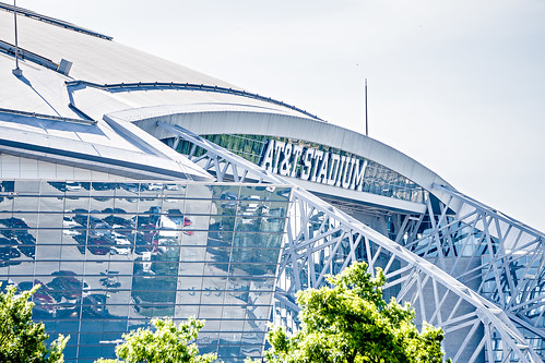 April 2017 Arlington Texas - AT&T NFLcowboys football stadium