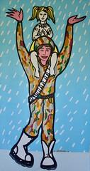 Timeless Coalition (MATLAKAS) Tags: war freedom equality coalition happy art contemporary pop ny matlakasart matlakas newway saatchi soldier smile child help solidarity solidal theway riccardoattanasio riccardomatlakas actionentropy painting