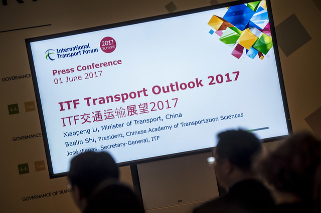 Introducing Chinese edition of the ITF Transport Outlook 2017