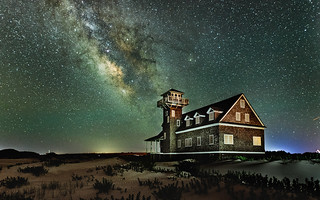 Milky Way & Oregon Inlet Life Saving Station