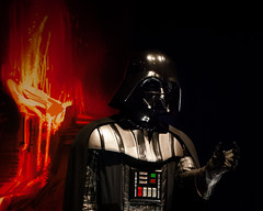 Star Wars costume exhibit (leehobbi) Tags: darthvader starwars costume movie exhibit display denver art museum