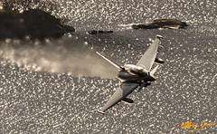 RAF Typhoon T.3 ZJ815 low level at Ullswater (NDSD) Tags: low level typhoon t3 eurofighter ullswater cumbria flying jet raf lake district