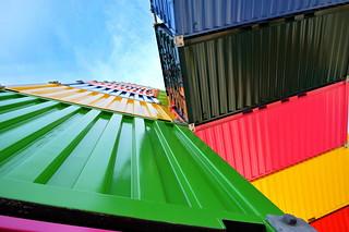Catène de containers 4