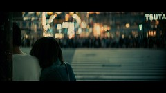 Shibuya Crossing, Tokyo, Japan (emrecift) Tags: candid portrait night low light street photography crossing crowd isolated tokyo japan cinematic 2391 anamorphic oval bokeh cinemorph filter sony a7 alpha legacy lens glass canon new fd 50mm f14 emrecift