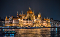 The Parliament at night (Vagelis Pikoulas) Tags: pest budapest hungary travel november autumn 2016 canon 6d tamron 70200mm vc danube river lights nightscape night city cityscape