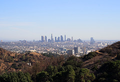 Los Angeles from the Hollywood Hills, 2016 (anorakin) Tags: losangeles hollywoodhills caliofornia california 2016