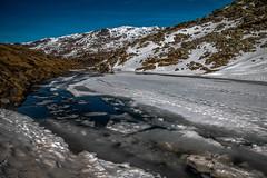 Dégel Printanier au Lac du Lou (Frédéric Fossard) Tags: paysage glace alpes savoie vanoise tarentaise dégel lacdemontagne lacdaltitude lacgelé lacdulou printemps eau rive flancdemontagne fontedesneiges vallée vallon cimes crêtes nature lesmenuires valthorens lesbruyères