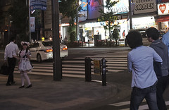 Akihabara _9 (Kinbachou48) Tags: akihabara tokio fujifilmx100s donquijote shopping byn maid idol akb48 tokiotower 東京都 秋葉原 ドン キホーテ メイド