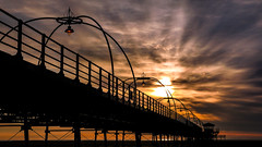 Southport (Mark Dickens) Tags: southport southportpier beach sky silhouette sunset dusk seaside