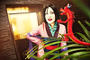 ToastyTeeny as Mulan @ Acen 2017 (Totally Toasty Photography) Tags: disney mulan cosplay acen disneycosplay animecentral mushu
