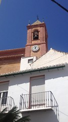 TORROX CHURCH (more Mark Hewins) Tags: torroxchurch torroxpueblo torrox campanology bellringing clock wrong