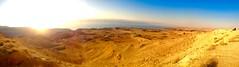 Sunset Over Mujib at Dead Sea, Jordan (WorldExplorations) Tags: desertbreath wadiarabah judaeanmountains desert iphone panoramic pano levant middleeast jordan sunlight sun sunset sunshine jordanriftvalley jordanvalley valley hills mountains biospherereserve mujibnaturereserve unesco naturereserve landscape lake saltlake sea deadsea