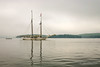 My Digital Dawn (John H Bowman) Tags: newengland maine hancockcounty castine baysinlets penobscotbay boats schooners reflections fog july2004 july 2004 canonefs1855