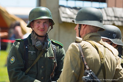 german_troops2 (ronfin44) Tags: wwii wwiiweekend wwiiairshow war airplane aircraft soldiers allies allied axis german ss nazi yankee lady b17 b25 b24 liberator panchito russians russian ruskie british paratrooper army navy marines airforce veterans veteran uniform medals awards troops