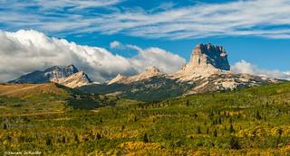 Montana mountainscape