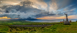 Storm Clouds Over Donegal Panorama.