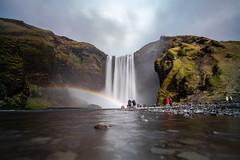 Skógafoss (DaveR1988) Tags: iceland fujifilm xseries x nature vacation cold beautiful nordic north xpro2 waterfalls waterfall amazing fuji samyang 12mm