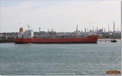 Atlantic Gas, Fawley, June 3rd 2017 a (Bristol RE) Tags: atlanticgas imo tanker oiltanker fawley solent southampton 9662019