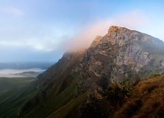 Can't beat nature (ajecaldwell11) Tags: sunrise ankh cliffs dawn light tukitukiriver hawkesbay newzealand rocks cloud tukituki fields sky fog tematapeak caldwell mist clouds