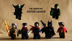 The American Justice League (Julianosaurus) Tags: lego steampunk superman flash martian manhunter batman wonder woman green lantern