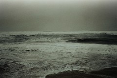 Storm (.everlasting) Tags: storm sea water waves light 35mm analogue film melancholy blackness feverdreams everlasting