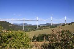 Viaduc de Millau, France (freekblokzijl) Tags: aveyron millau viaduc bridge tarn france autoroute normanfoster canon landscape panorama