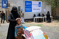 Islamic Relief's Ramadan food distribution in Yemen