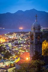 Kotor (_gate_) Tags: montenegro kotor church bay our lady healths night sunset balkans gulf котор crna gora landscape sky view the rocks nikon d750 handheld hand held colorful beautiful summer spring may april mai 2017 sun set down sonnenuntergang adriatic sea meer adria euro trip europe travel wide light pink blue himmel cloud clouds wolken landschaft blendenstern stern star 20mm afs 18g ed nightscape cityscape urban wasser fluss see