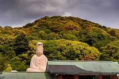 Sitting statue @ Kyoto