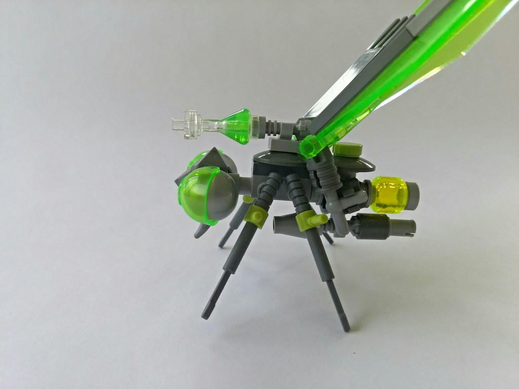 02 Slightofbrick Tags Lego Moc Mosquito Bug Insect Drone