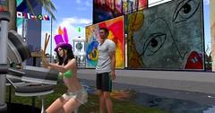 Art & Music (pulpfictionstudio) Tags: secondlife sl14b moz