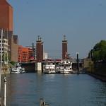 Schwanentorbrücke und Weiße Flotte Duisburg thumbnail