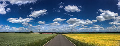 The road to you (Frank ) Tags: prototype iphone8 limburg frnk europe pano road corn field germ weed cd album cover vinyl book art patmetheny jazz america usa clouds sky fc color rendition render