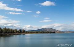 Pantano de Guadalen, Jaén. (LydiaCG_fotografía) Tags: agua paisaje cielo pantano nubes