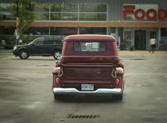 Nice Rear End (HTT) (13skies) Tags: happytruckthursday hdr singleshothdr postprocessing truckthursday truck cool vintage older old pickuptruck pickup htt parkinglot classic