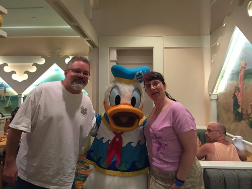 "Tracey, Scott and Donald Duck • <a style=""font-size:0.8em;"" href=""http://www.flickr.com/photos/28558260@N04/33974575324/"" target=""_blank"">View on Flickr</a>"