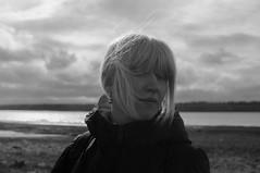 spring (Ivan Ovchinnikov) Tags: portrait bw blackandwhite girl outdoor nature wind blond clouds river landscape chiile ivanovchinnikov ивановчинников пермь nikon sigma30mmf14 sigma 30mm