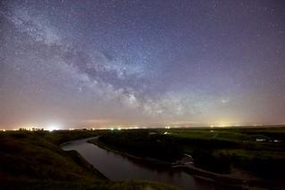Milky Way at Caresland 2017