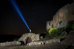 El tio la linterna... (dixman!) Tags: nocturna castillo calatravos linterna largaexposicion longexposure canon 70d tokina 1120