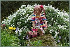 Margie ... (Kindergartenkinder) Tags: grugapark essen kindergartenkinder blüte garten blume park frühling annette himstedt dolls margie kind personen