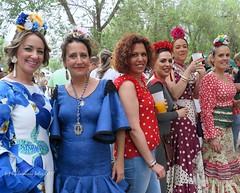 Día de San Isidro. Romería en Alameda.(Málaga) (lameato feliz) Tags: romería mujer alameda fiesta andalucía