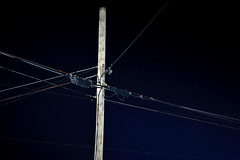 Angles, Fauquier County, Virginia (lacafferata) Tags: telephonepole telephonewires