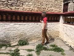 IMG_4206 (RubyWhatever) Tags: annapurnacircuit nepal day15 jomsomtomarpha marpha prayerwheels gavin gompa monastery